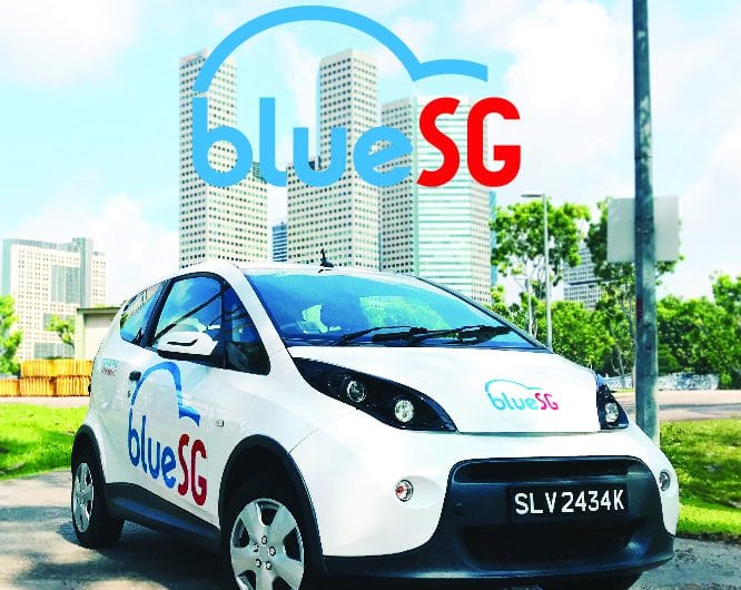 (Free rental) BlueSG Referral –  24/7 Carsharing solution in Singapore
